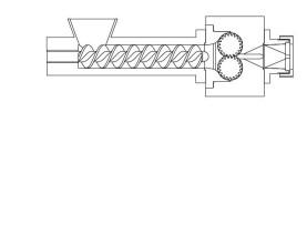 UTH GmbH konischer Doppelschneckenextruder