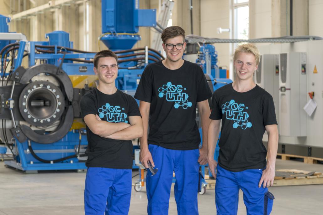 Ausbildung bei der UTH GmbH
