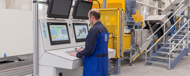 Fernwartung roll-ex® Maschinen UTH GmbH