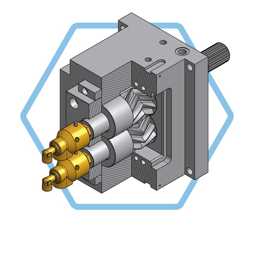 UTH GmbH Zahnradpumpe roll-ex®