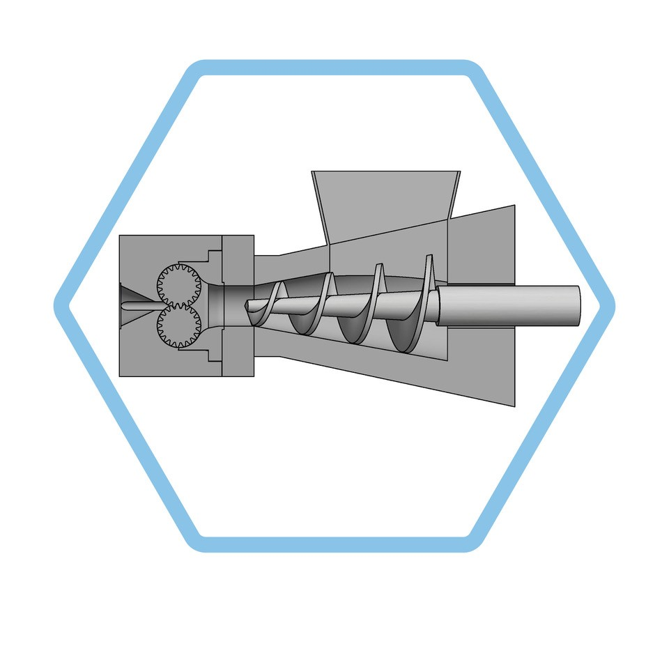 DSE Conical Twin-Screw Feeder